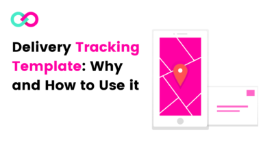 Delivery Tracking Template: Cover Image