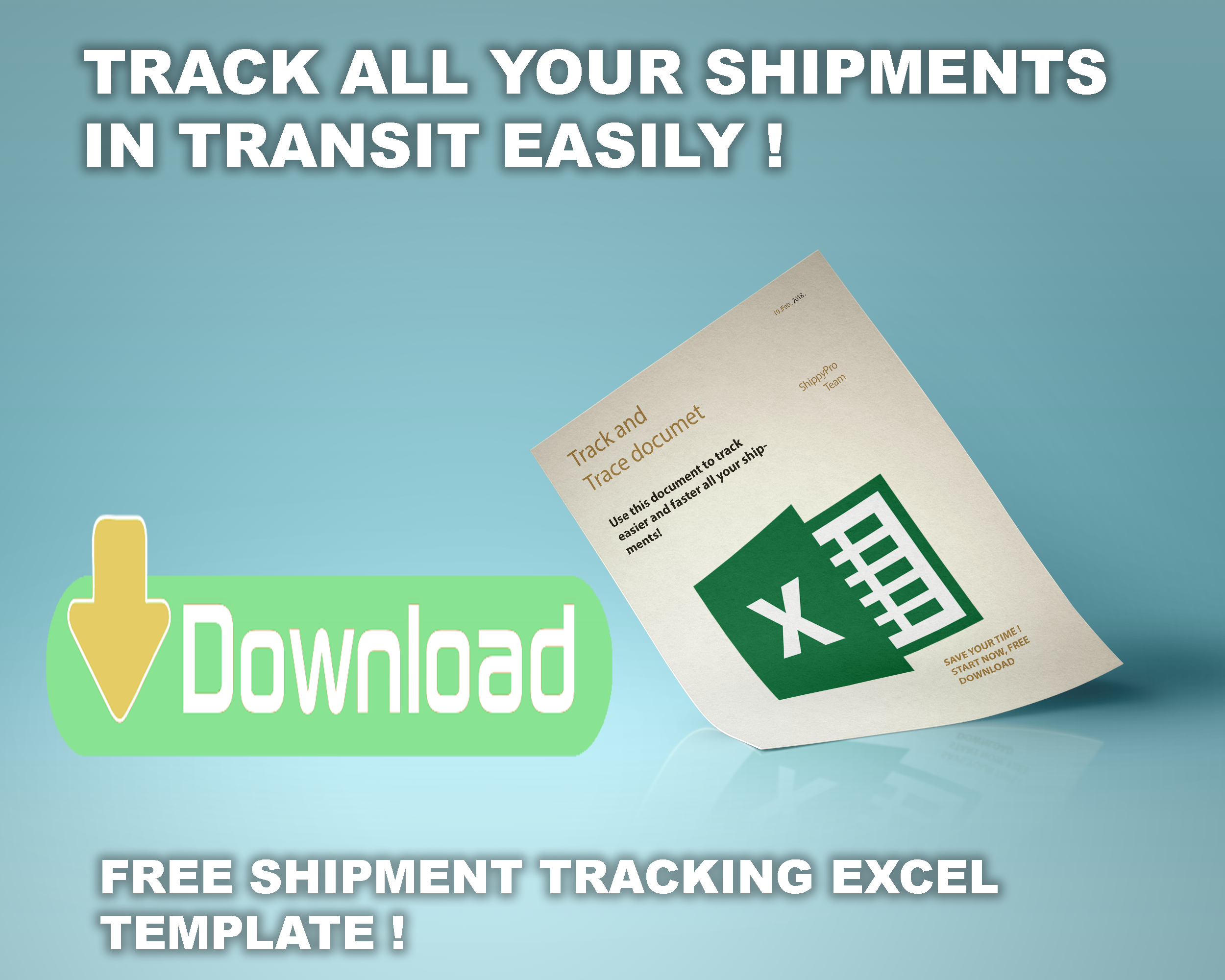 Delivery tracking template