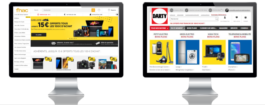 Marketplace di Fnac e Darty a confronto eng