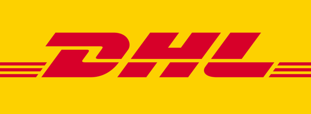 Best european courier: logo DHL