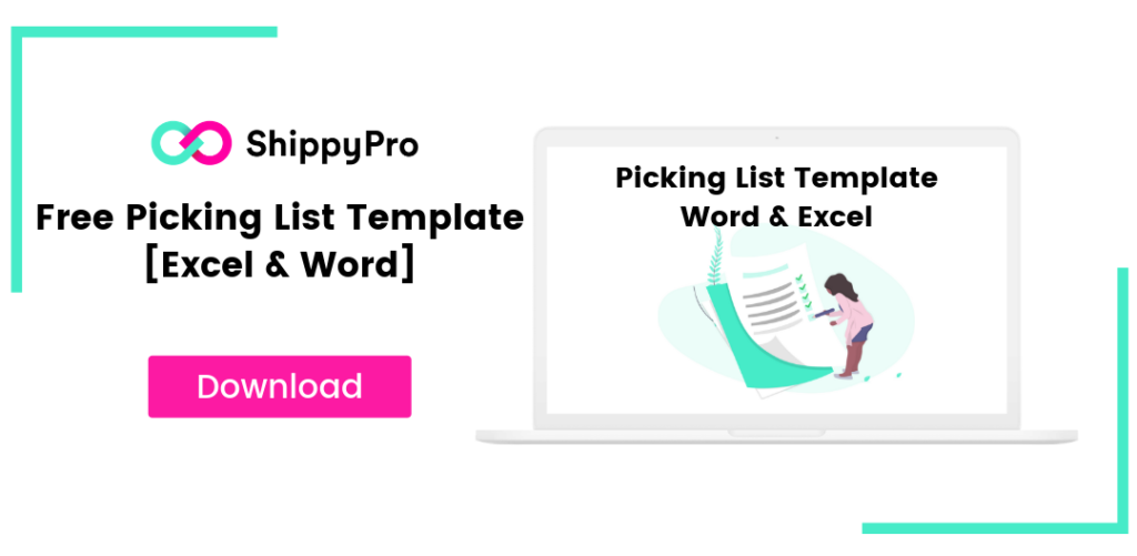Free Picking List Template