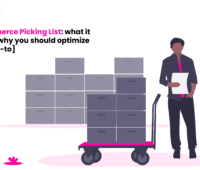 Picking list template Ecommerce