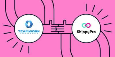 ShippyPro partnership with TeamWork Commerce