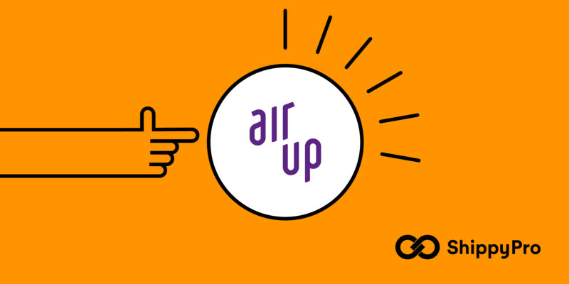 Air Up is a ShippyPro partner