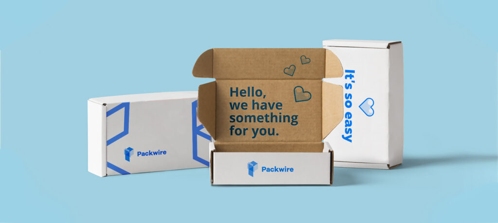 Ecommerce shipping and packaging boxes