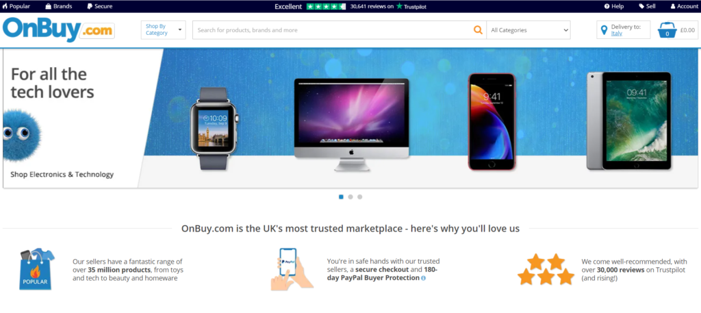 Home Page OnBuy